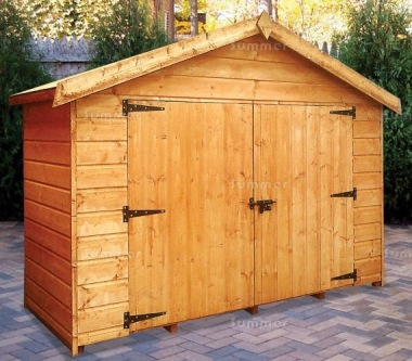 Shiplap Transverse Apex Shed 176 - All T and G