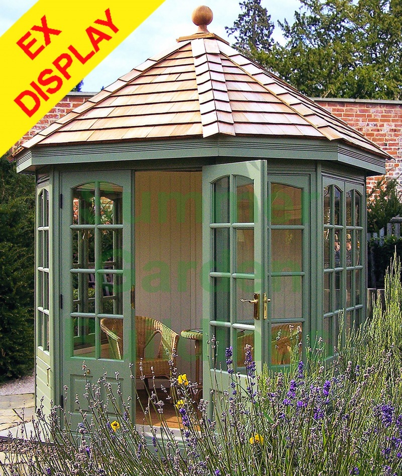 Georgian Octagonal Summerhouse 510 - Ex Display, Collection Only