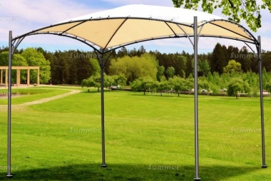 Metal Gazebo 174 - Curved Roof