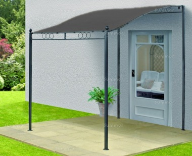 Metal Gazebo 112 - Lean To Style