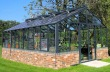 Large Dwarf Wall Aluminium Greenhouse 68 - Toughened Glass