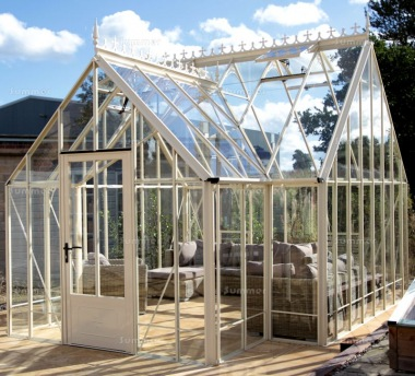 Large Aluminium Orangery 735 - Valley Roof, Box Section