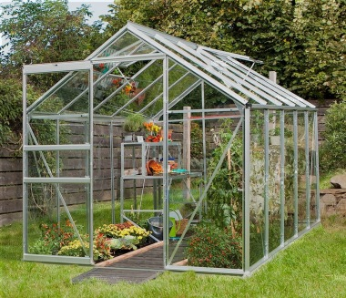 Aluminium Greenhouse 139 - Low Threshold