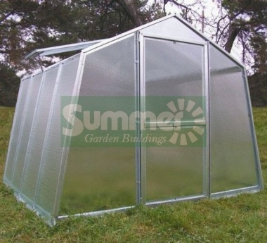 Greenhouse 072 - Galvanized Steel Frame, 6mm Polycarbonate