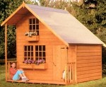 Two Storey Playhouse 180 - Upstairs to one Side
