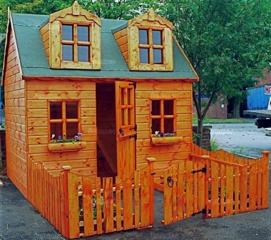 Two Storey Playhouse 129 - Upstairs to one Side