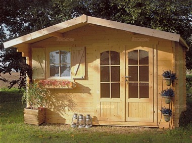 Apex Log Cabin 748 Window Shutters Felt Tiles