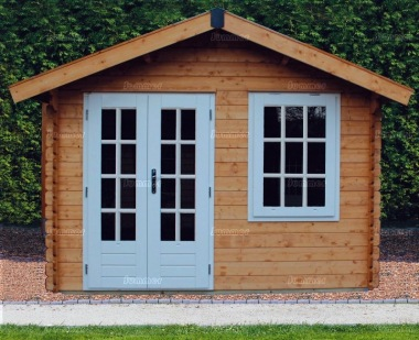 Georgian Apex Log Cabin 320 - Double Glazed