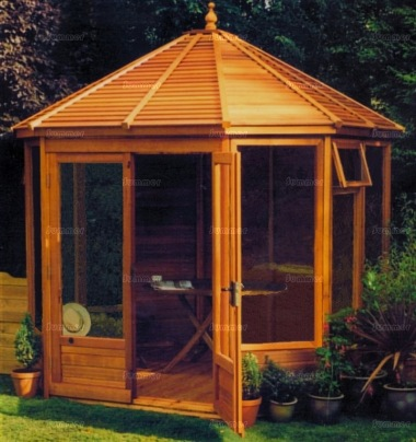 Octagonal Summerhouse 60 - Large Panes