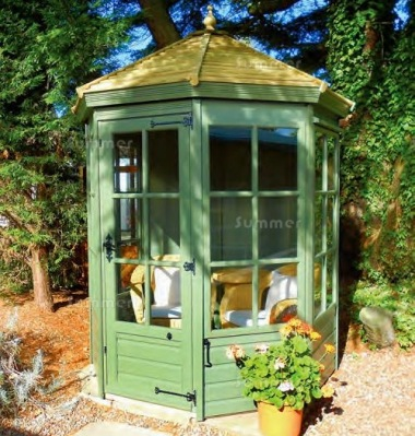 Georgian Octagonal Summerhouse 63 - Low Level Glazing