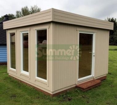 Garden Office 201 - Thicker Cladding, Double Glazed PVCu
