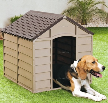 Low Maintenance Plastic Dog Kennel 469