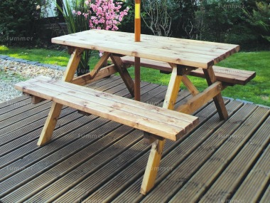 6 Seater Picnic Bench 438 - 5ft Benches