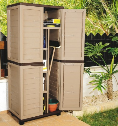 Low Maintenance Plastic Storage Cabinet 457