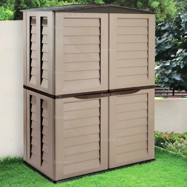 Plastic Storage Cabinet 463 - High Density Polypropylene