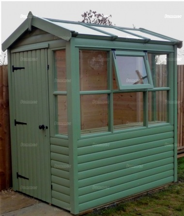 Potting Shed 29 - Painted, All T and G