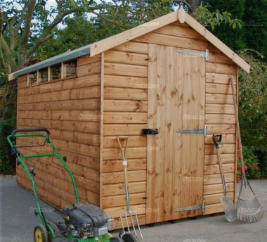 Security Apex Shed 569 - Shiplap, T and G Floor and Roof