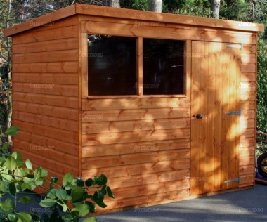 Shiplap Pent Shed 576 - T and G Floor and Roof