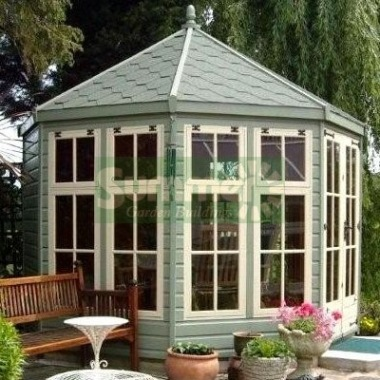 Georgian Octagonal Summerhouse 951 - Painted