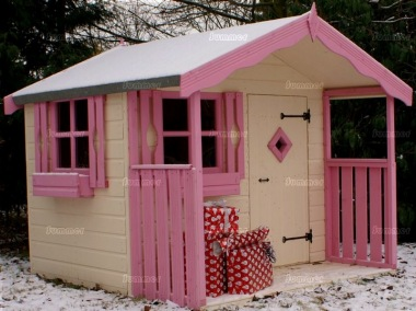 Childrens Playhouse 256 - Painted, Choice of Colours