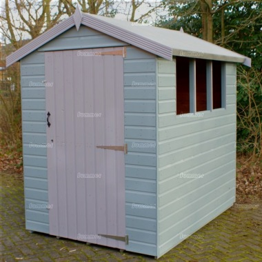 Apex Shed 56 - Painted, T and G Floor and Roof