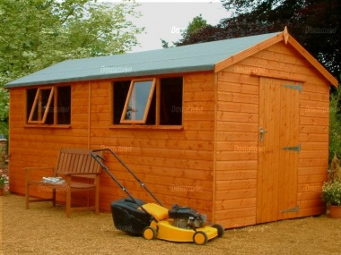 Shiplap Apex Shed 562 - Extra Tall Workshop, All T and G