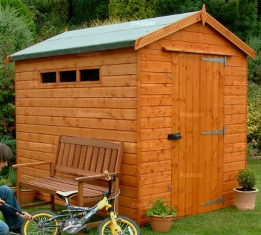 Security Apex Shed 62 - Extra Tall, All T and G