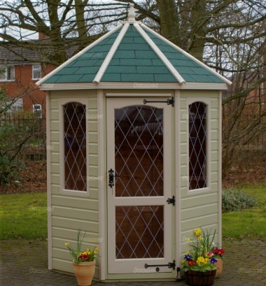 Leaded Octagonal Summerhouse 426 - Painted