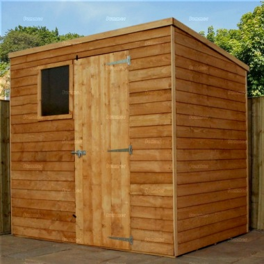 Overlap Pent Shed 254