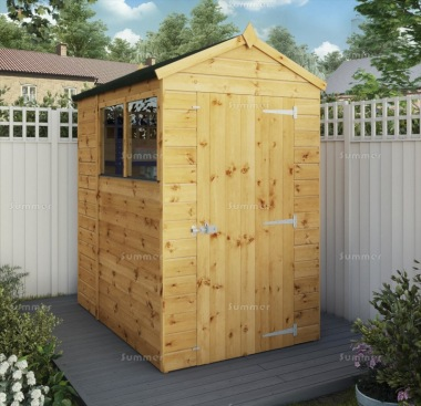 Apex Shed 280 - Shiplap