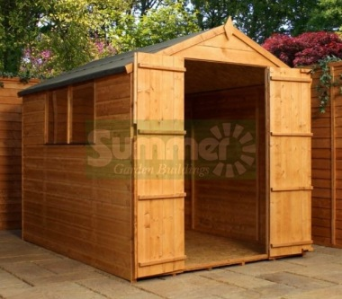 Shiplap Double Door Apex Shed 281