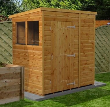 Pent Shed 863 - Fast Delivery, Many Possible Designs