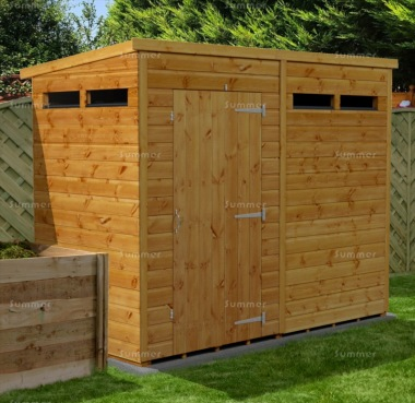 Pent Security Shed 871 - Fast Delivery, Many Possible Designs