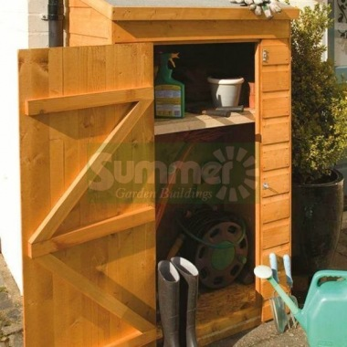 Pent Roof Small Storage Shed 249 - Shiplap