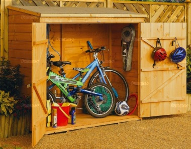 Shiplap Pent Roof Small Storage Shed 250