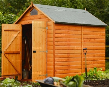 Security Apex Shed 36 - Double Door, All T and G