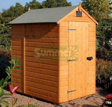 Security Apex Shed 37 - Shiplap, T and G Floor