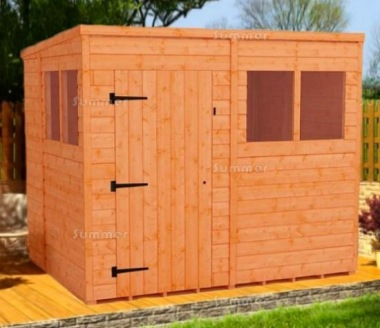 Pent Shed 049 - Fast Delivery, Many Possible Designs
