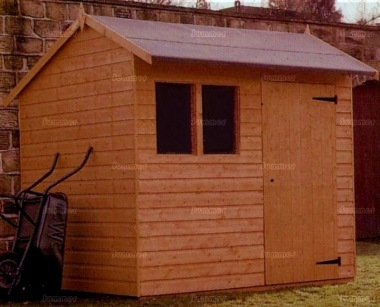 Side Door Apex Shiplap Shed 178 - All T and G