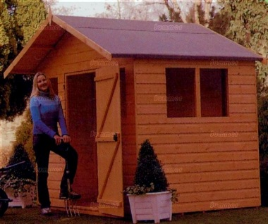Shiplap Transverse Apex Shed 236 - All T and G
