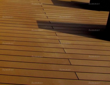 Composite Decking Kit 288 - Reversible, Grooved Finish, Brown